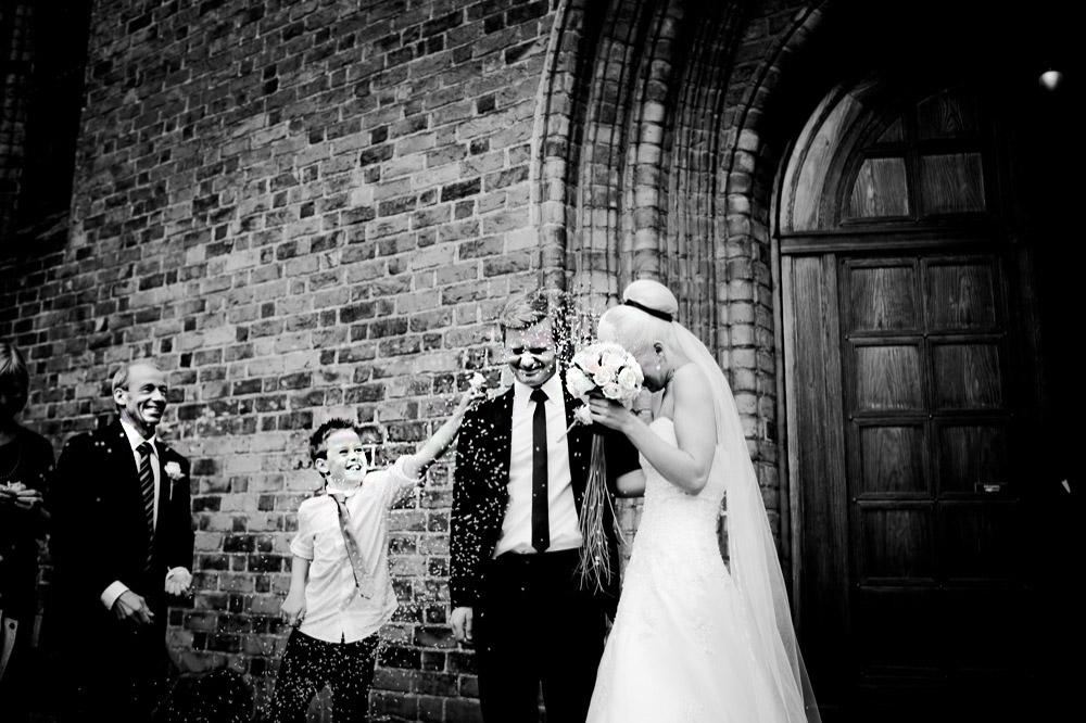 Et bryllup er en vigtig begivenhed i parrets liv